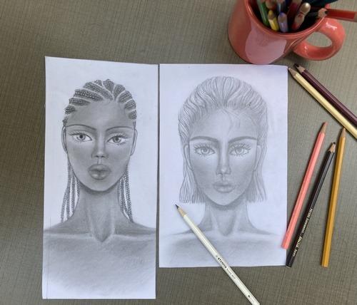 طراحی چهره و مد