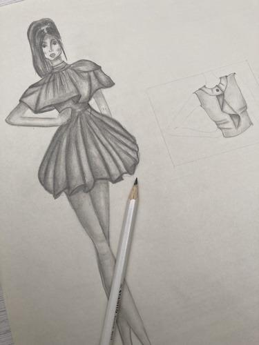 نمونه طراحی لباس