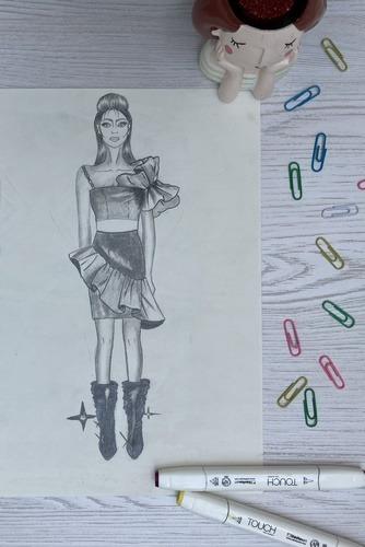 تصویرسازی لباس در صنعت مد