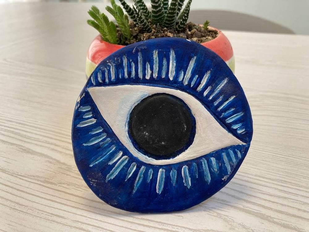 هنر مجسمه سازی چشم زخم